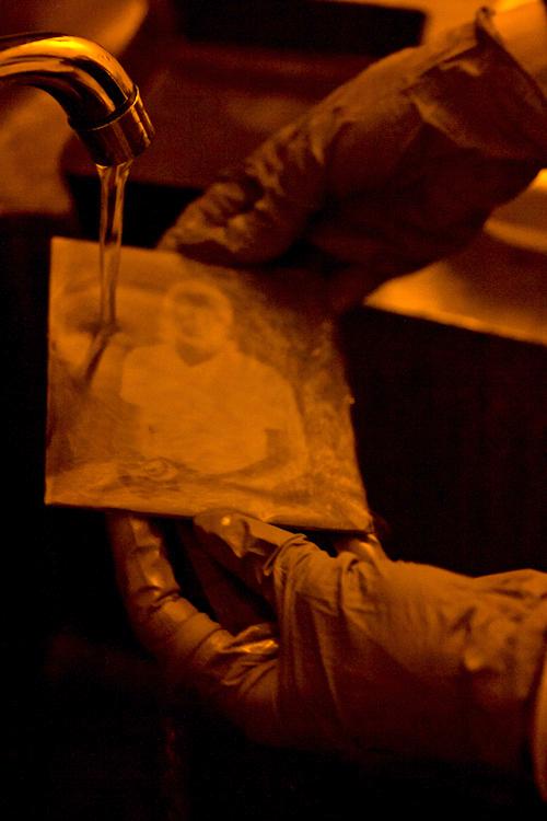 center for alternative photography wet plate tintype cyanotype portrait