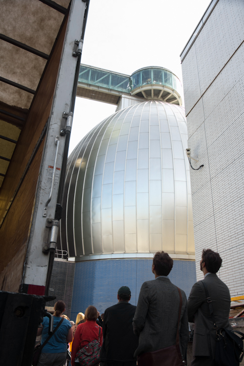 rives newtown creek wastewater treatment plant tour