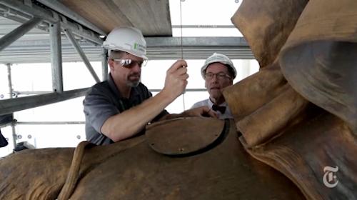 st gaudens tecumseh sherman monument central park dunlap restoration